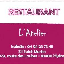 Restaurant Hyères L'Atelier